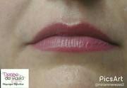 Lábios Hot  pink