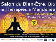 Salon du Bien Etre, Bio et Thérapies Mandelieu