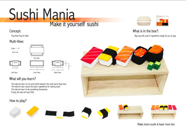 Toy Design-Sushi Mania4