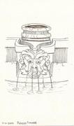 Fountain at Palazzo Franese