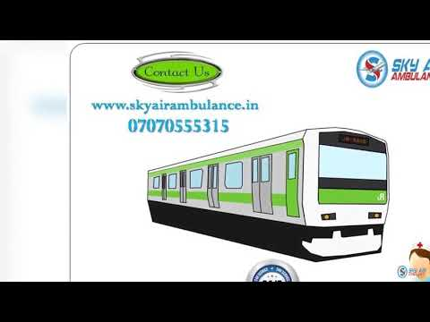 Take Low Budget Train Ambulance Service in Kolkata