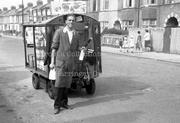 Milkman, Woodlands Park Road, 1963
