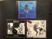 Nirvana Signed CD's from Liberty Lunch, Austin, TX. October 21, 1991
