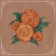 Vintage Flower : Rose 4