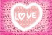Love Heart pink design4