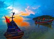 Sunset From GoPro Hero3.