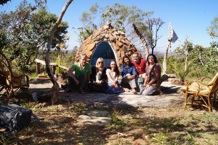Grupo do Rosário reunido para foto!