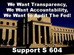 Transparency, Accountability, Audit the FED!