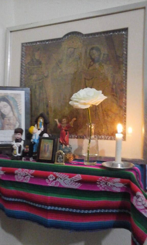 Virgen de Chinquinquira patrona de Colombia