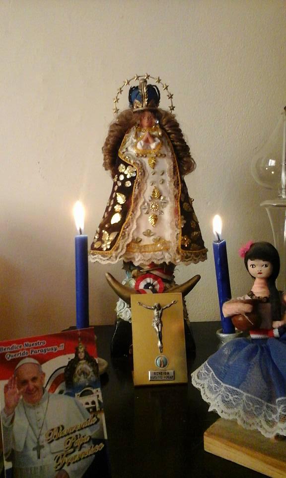 Virgen de Caacupe patrona del Paraguay