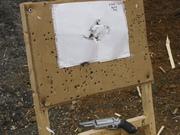 5 Feet rapid showing gun