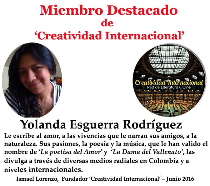 Miembro destacado Yolanda Esguerra