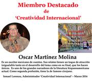 Miembro Destacado Oscar Martínez Molina