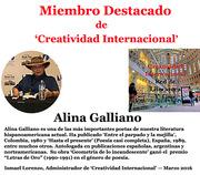 Alina Galliano, Miembro Distinguido