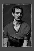 Tom Cruise sketch pixels