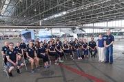 Teaching meditation techniques the Solar Impulse team on Hawaii