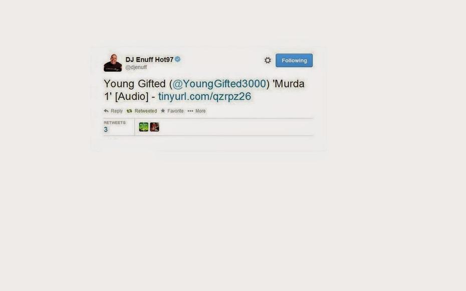 Hot 97 Legendary_ DJ Enuff_Thx 4 The Tweet