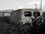 Rusty car...
