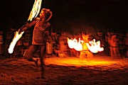 Robin Firedancing