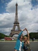 Eiffel Tower with Am