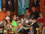 Fam at Dinner New Orleans