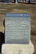 Alonzo and Emma Douglas's Grave in Norton, Kansas