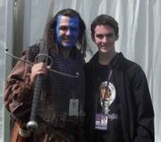 Michael and a mighty warrior at the Gathering