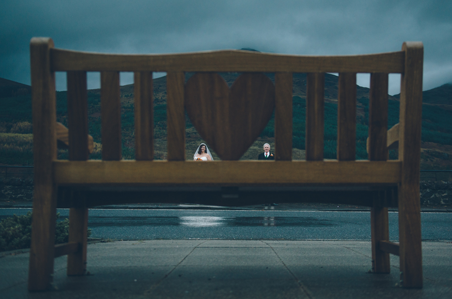 The heart bench