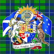 Clan Douglas Australia Coat of Arms.