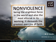 Thought For The Day ( NON-VIOLENCE )