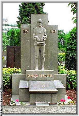 Tombe de Charles De Coster