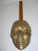 masque d'un visage indien