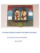 Reliefs imprégnés des Eaux Mouvantes et Poétiques