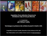 EXPOSITION D'ALBA LA ROMAINE  WARZEE GRAVEUR