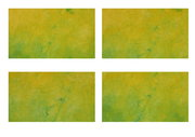 holy yellow x 4  peinture de MChifflotComazzi
