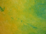 holy yellow acrylique sur toile