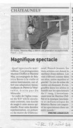 Magnifique spectacle 17 août 2010