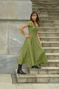 Green Koru Dress