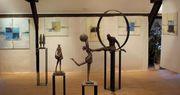 Exposition de Brigitte Kerremans ,Sandrine Bouleau & Georfeld