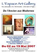 Les belles expositions de l'Espace Art Gallery de 2007 à 2013