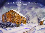 Joyeux Noël, Bonne et Heureuse Année 2011 à Vous