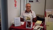 Jacques Goyens en dédicace à la Foire du livre de Bruxelles