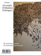 Secondes Tribulations Poétiques (4ème)