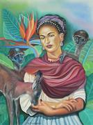 Dona Frida Kahlo de Rivera et  Grazino