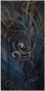 Abstraction Bleu et Or