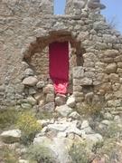 installation dans un village abandonné -