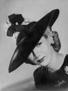 La dame au chapeau