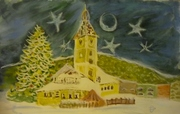 La nuit de Noël à Brasov