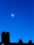 Lune cachant ses rondeurs