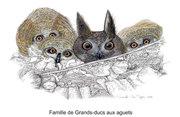 famille-de-grands-ducs-aux-aguets